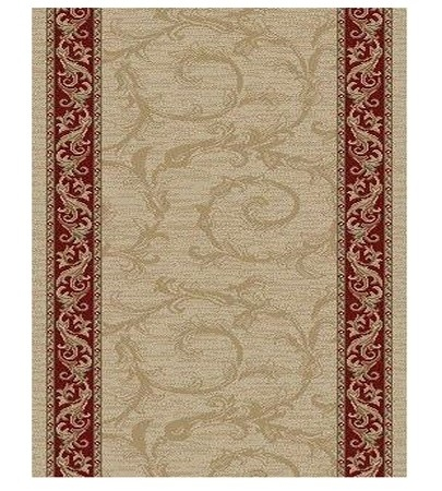 Brilliance BRI-01 Beige Carpet Stair Runner