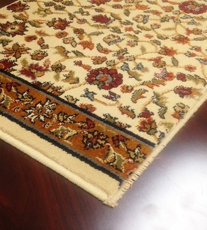 Brilliance BRI-03 Beige Rust Carpet Stair Runner