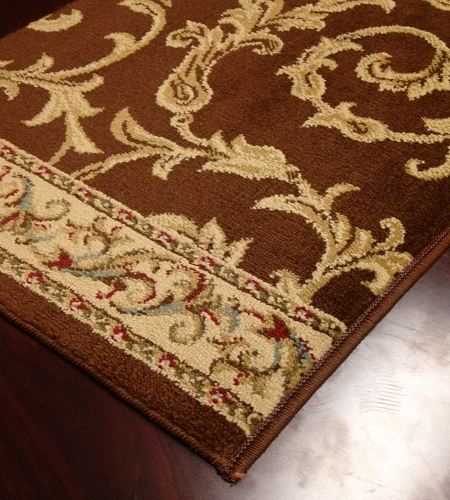Brilliance BRI-01 Brown Carpet Stair Runner