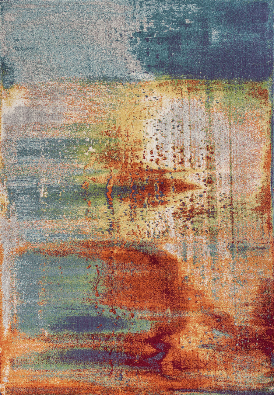 Kas Illusions 6203 Seafoam Watercolors Area Rug