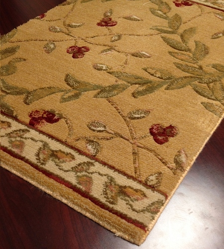 Barcelona BR02 Gold European Carpet Stair Runner