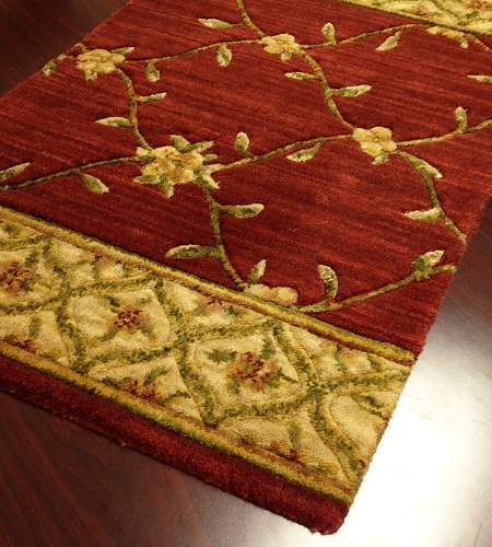 Estate Bilington Crimson Carpet Stair Runner