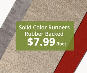 Pure Rubber Backed Runner