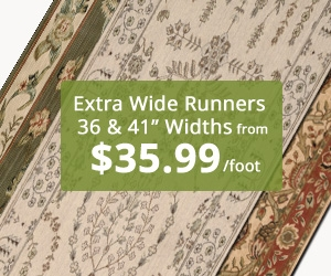 Extra Wide Runners