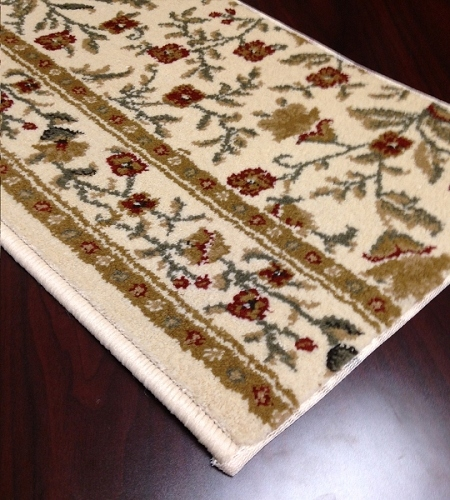 Como 1593 Ivory Carpet Stair Runner