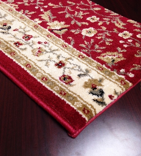 Como 1593 Red Carpet Stair Runner