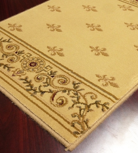 Crown CR02 Beige Carpet Stair Runner
