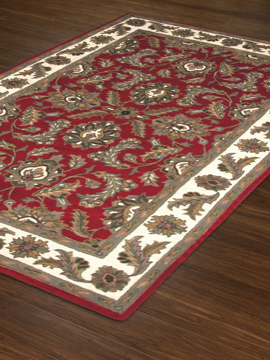Dalyn Jewel Jw10 Red Rug