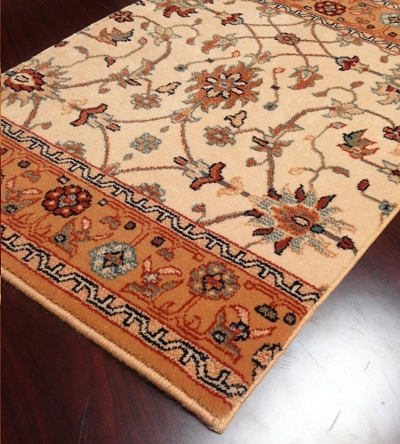 Gem Khorasan 8594/2083a Antique Gold Carpet Stair Runner