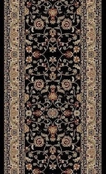 Brilliance BRI-06 Black Carpet Stair Runner