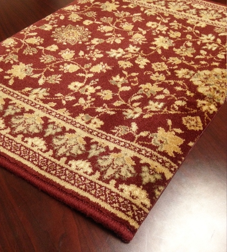 Royal Sovereign Marie 26292 Wine Carpet Stair Runner