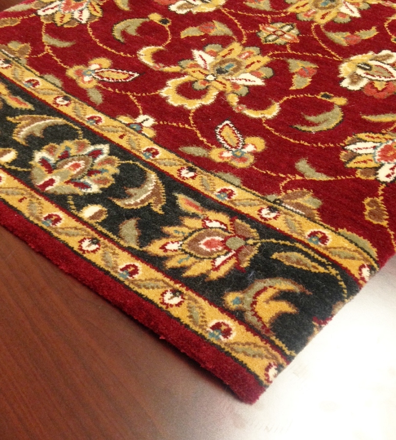 Palace Garden Pg 20 Burgundy Carpet Stair Runner