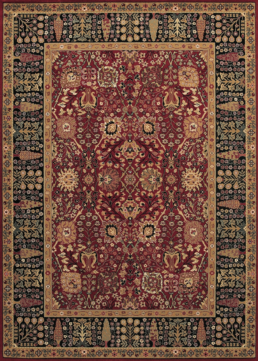 Cypress Garden Persian Red 0621 2597 Royal Kashimar Rug By
