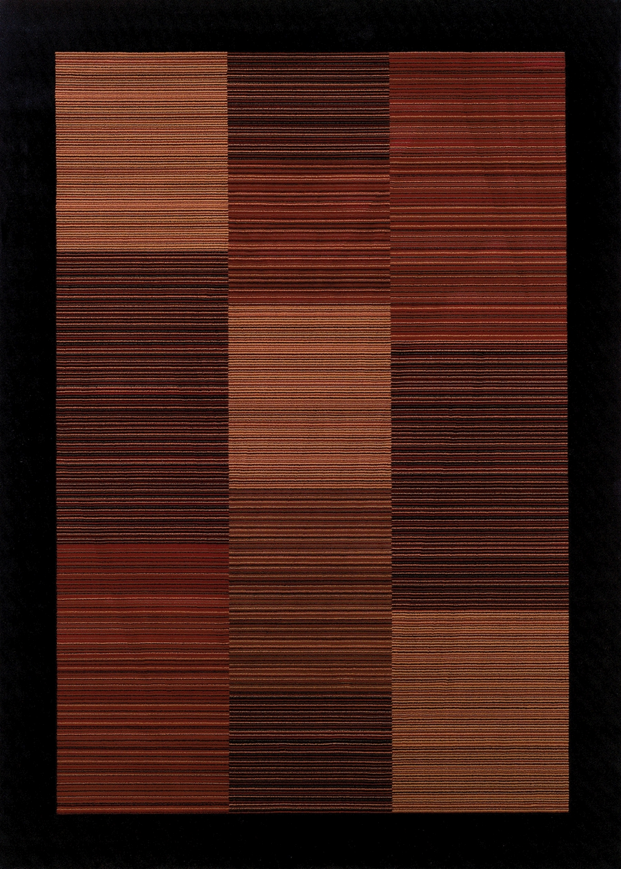 Hamptons Multi Stripe 0766/4998 Everest Rug by Couristan