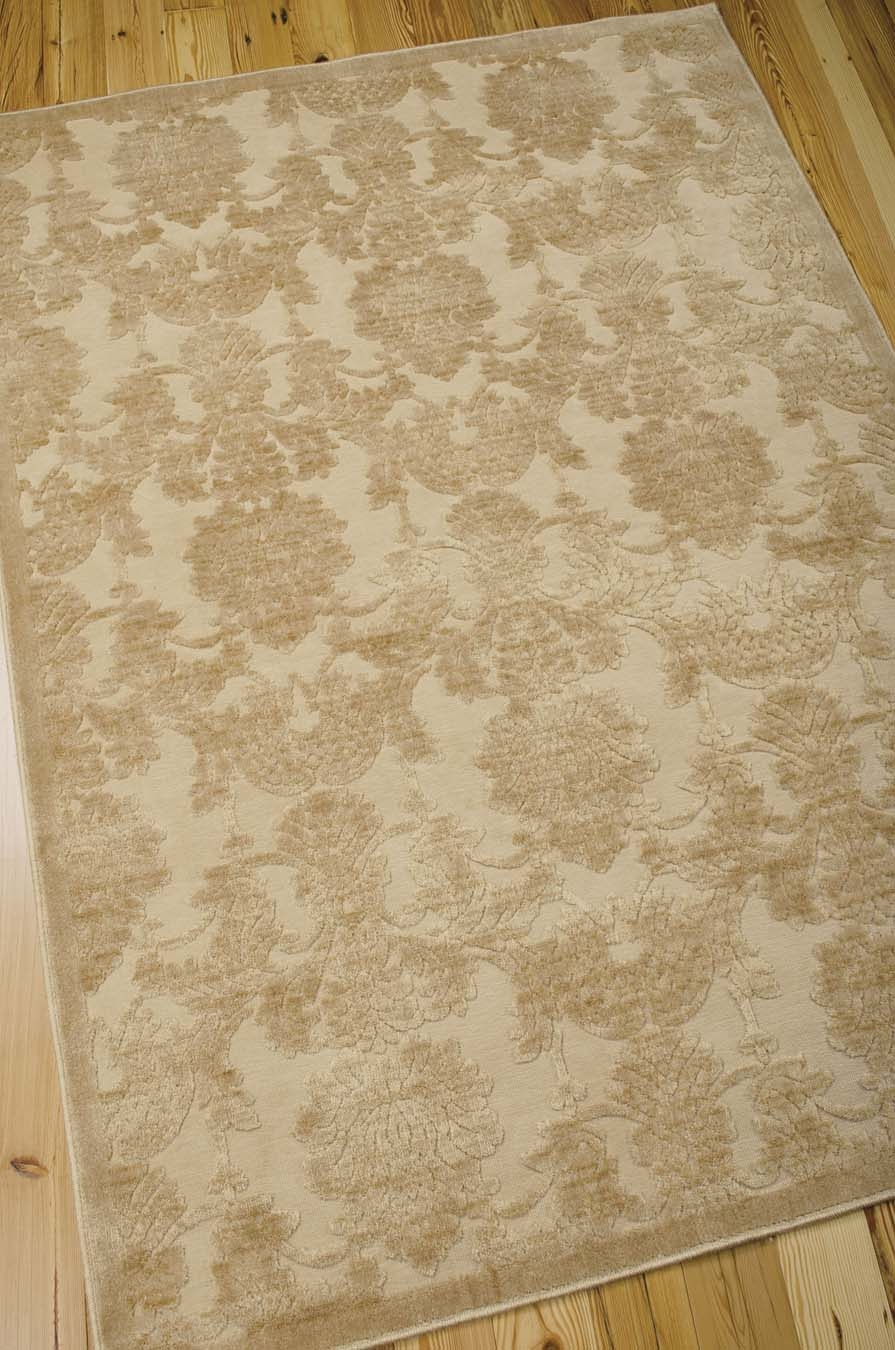 Nourison Graphic Illusions GIL03 Light Gold Rug