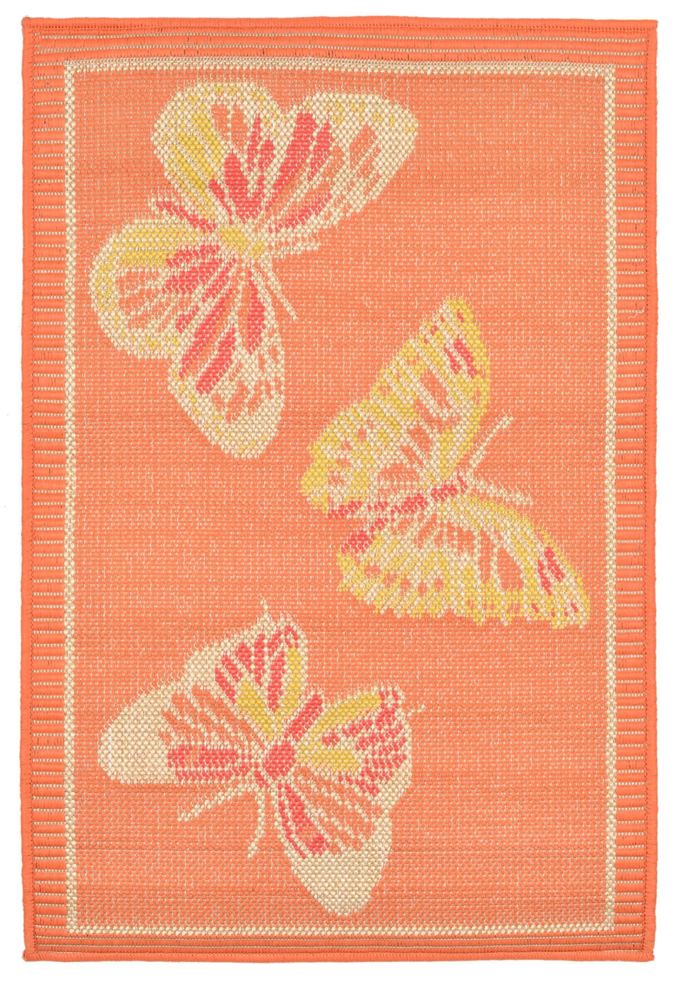 Transocean playa 1363 74 butterfly warm rug for Warm rugs