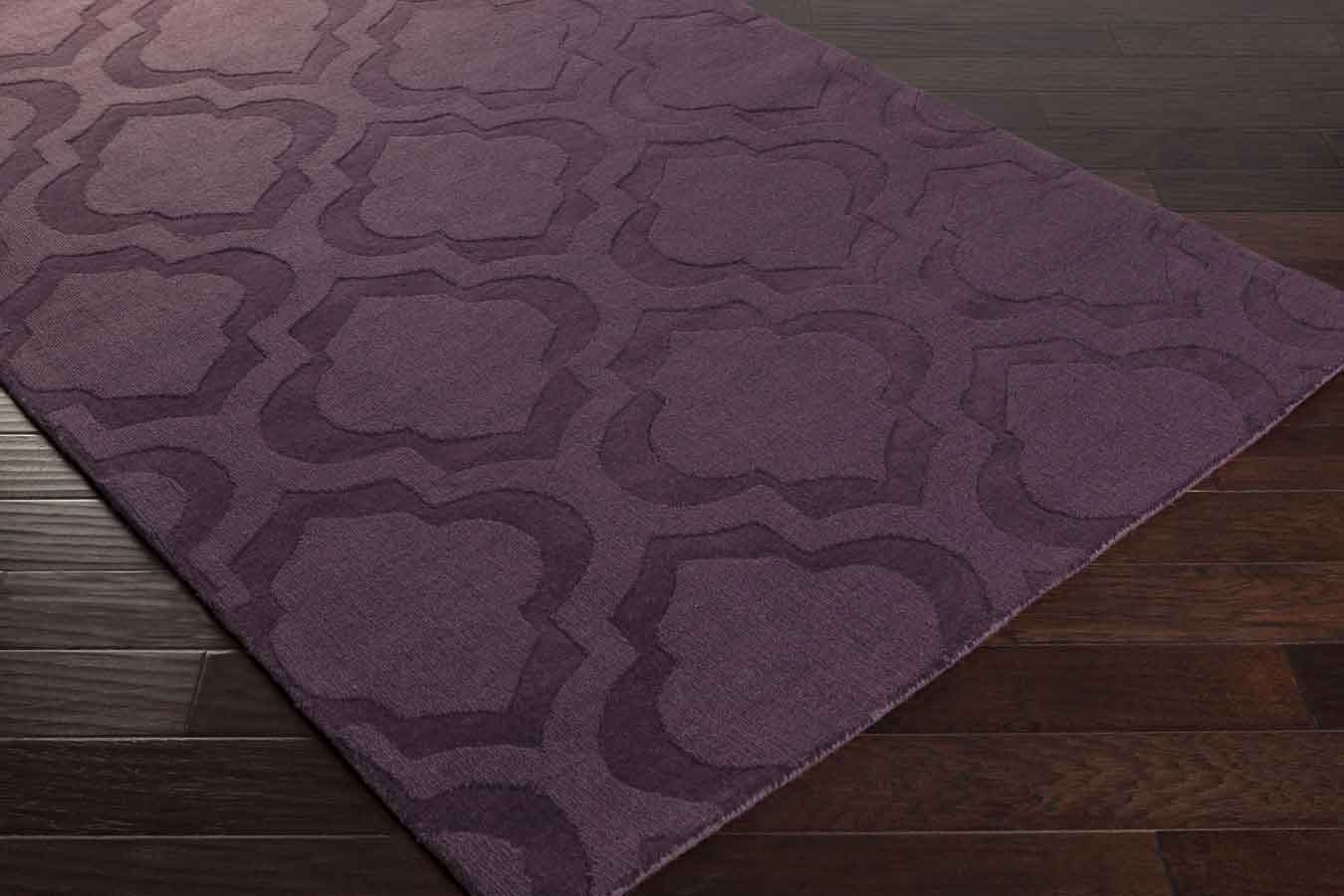 Artistic Weavers Central Park Kate AWHP4013 Purple Area Rug