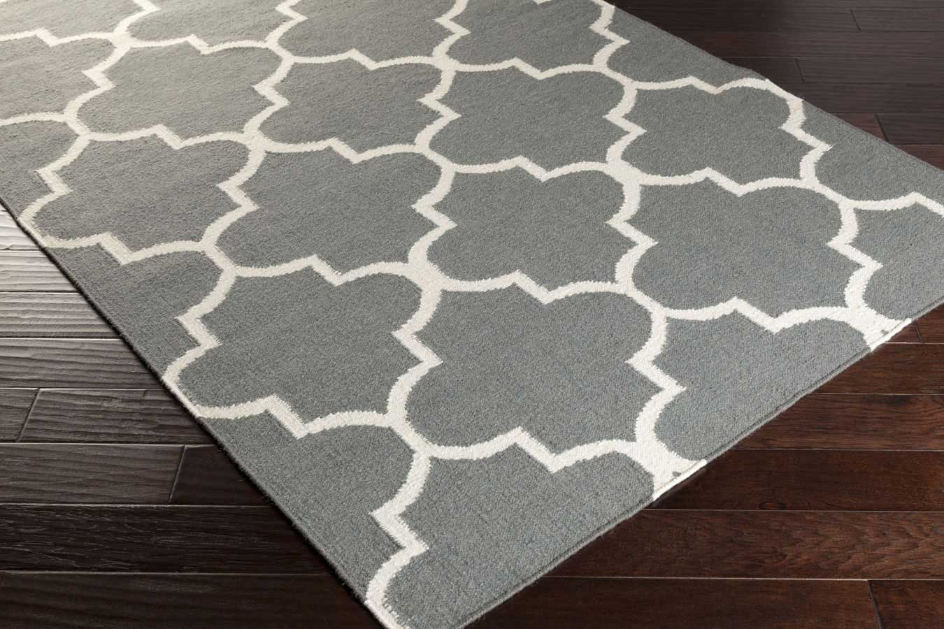 Artistic weavers york mallory awhd1017 grey white area rug for White area rug