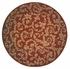 Round Ashton House AS04 Sienna Rug by Nourison