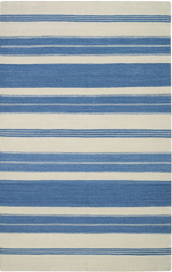Capel Jagges Stripe 3624 425 Blue Rug