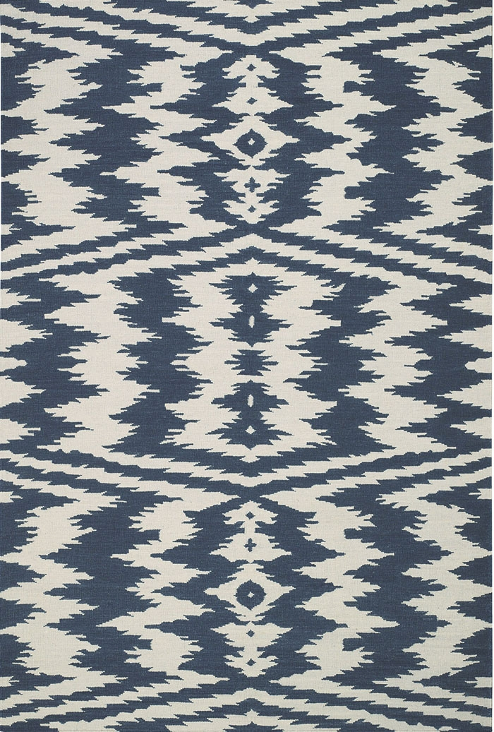 Capel Junction 3625 450 Blue Rug