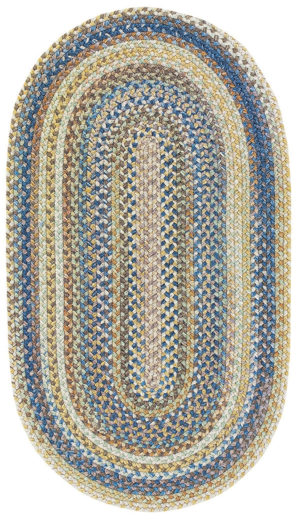 Light Blue Kill Devil Hill Rug by Capel