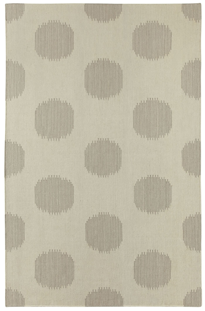 Capel Spots 3631 325 Steel Grey Rug