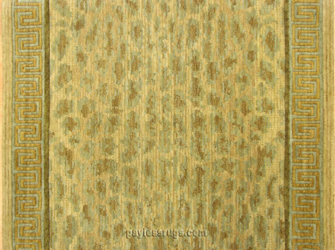 Congo CON03 Leopard Animal Print Carpet Stair Runner