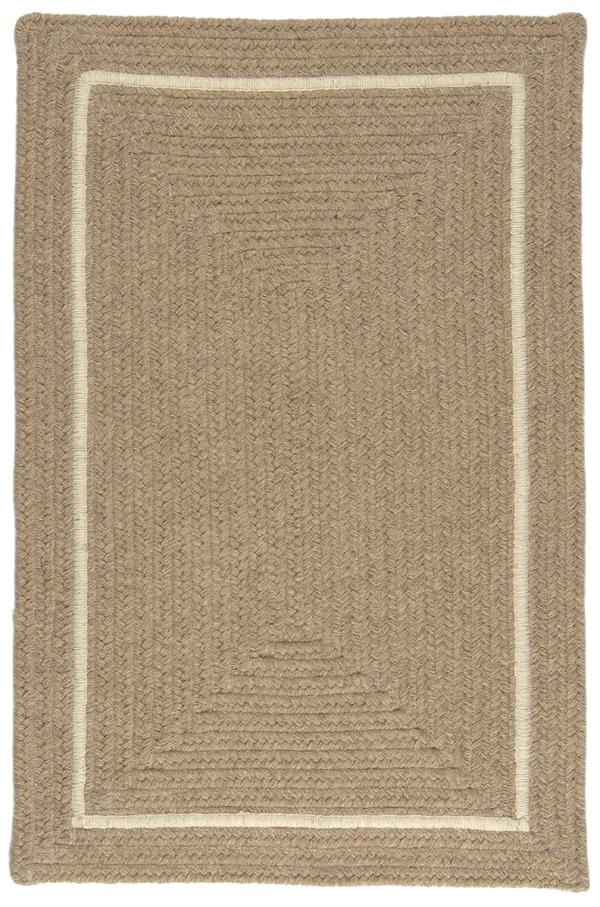 EN-33 Muslin Shear Natural Rug by Colonial Mills