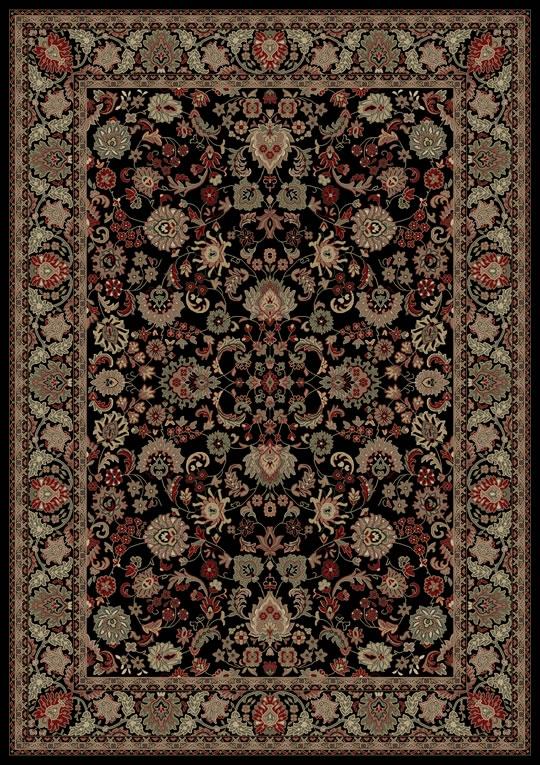 Concord Persian Classics 2103 Mahal Black Area Rug