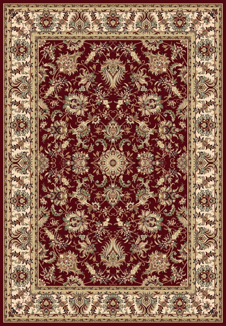 concord williamsburg 7570 ararat red area rug