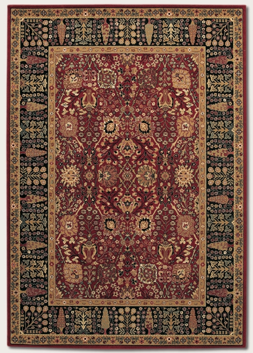Cypress Garden Persian Red 0621/2597 Royal Kashimar Rug by Couristan