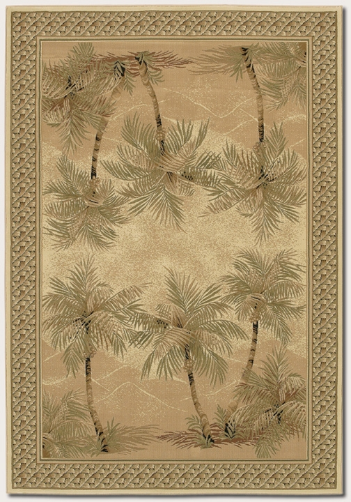 Palm Tree Desert Sand 2803/6387 Everest Rug by Couristan