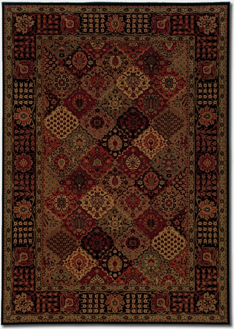Antique Baktiari Midnight 3721/4876 Everest Rug by Couristan