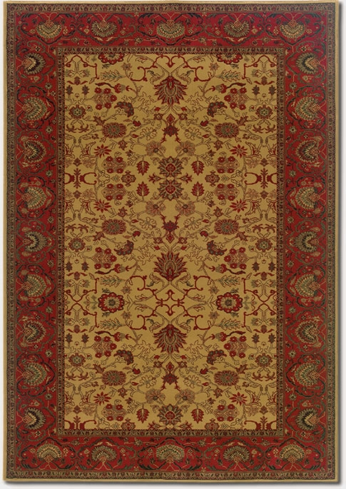 Tabriz Harvest Gold 3773/4874 Everest Rug by Couristan