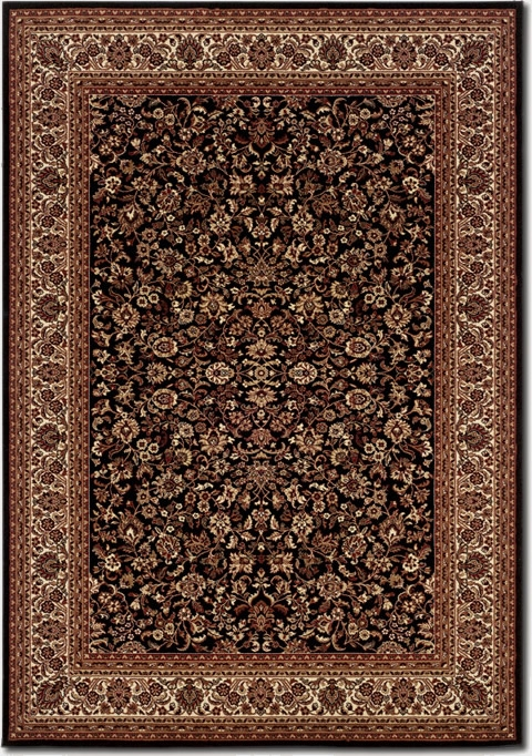 Isfahan Black 3791/6025 Everest Rug by Couristan