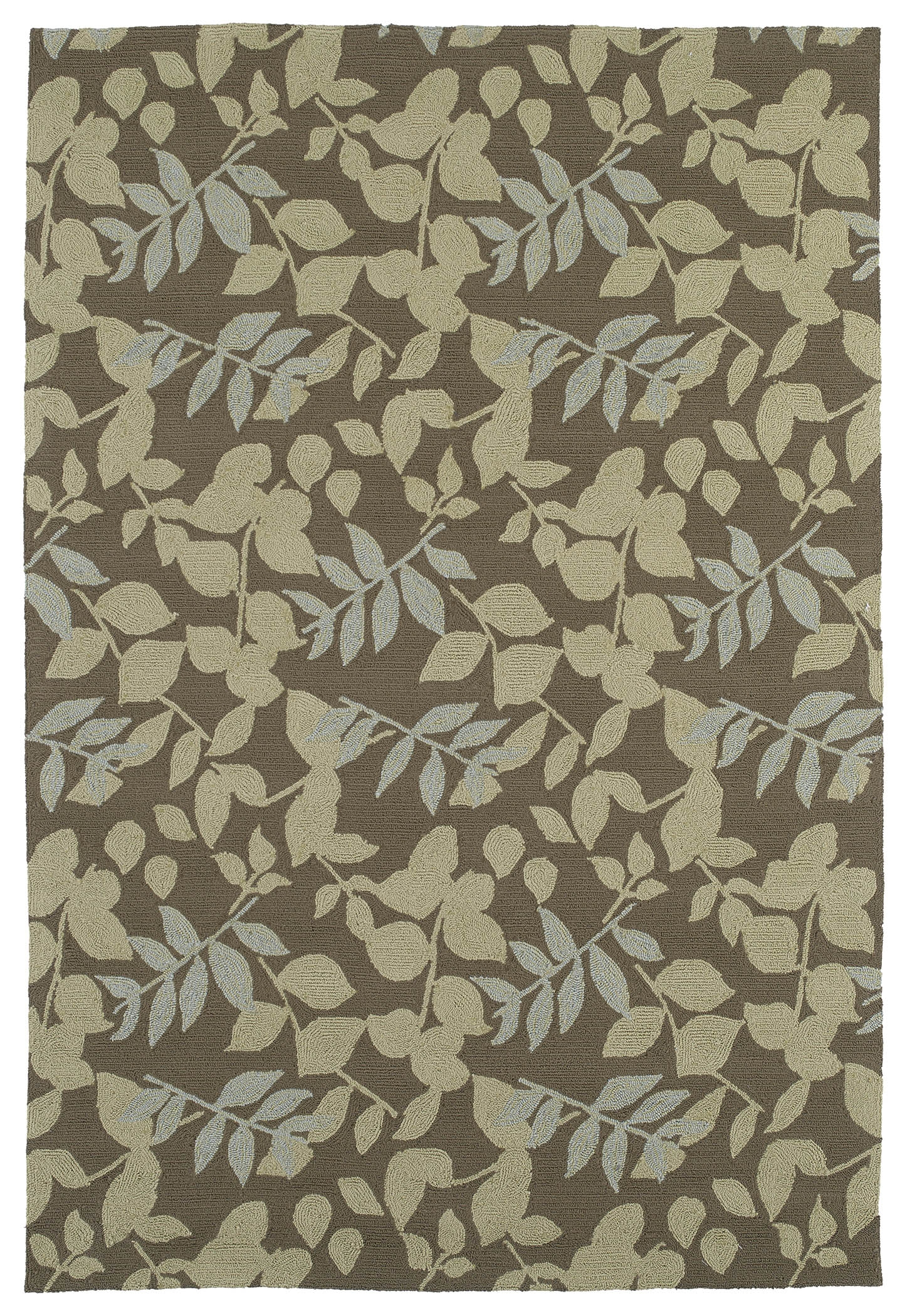 Home & Porch Wimberly 2001 51 Coffee Outdoor Rug by Kaleen