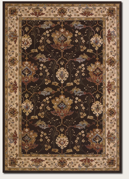 Khalista Chocolate 6358/3767 Everest Rug by Couristan