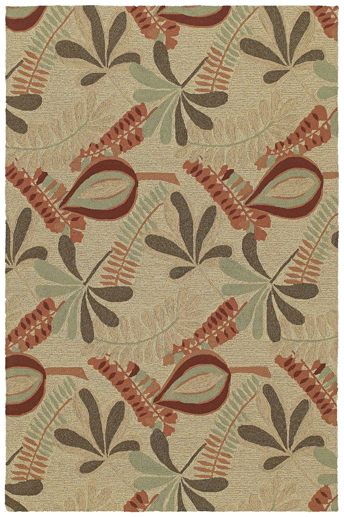 Home & Porch Tybee 2005 42 Linen Outdoor Rug by Kaleen