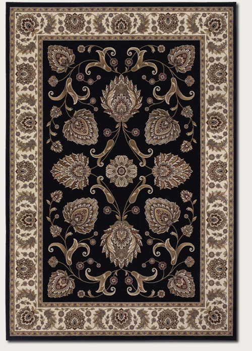 Leila Ebony 6382/5989 Everest Rug by Couristan