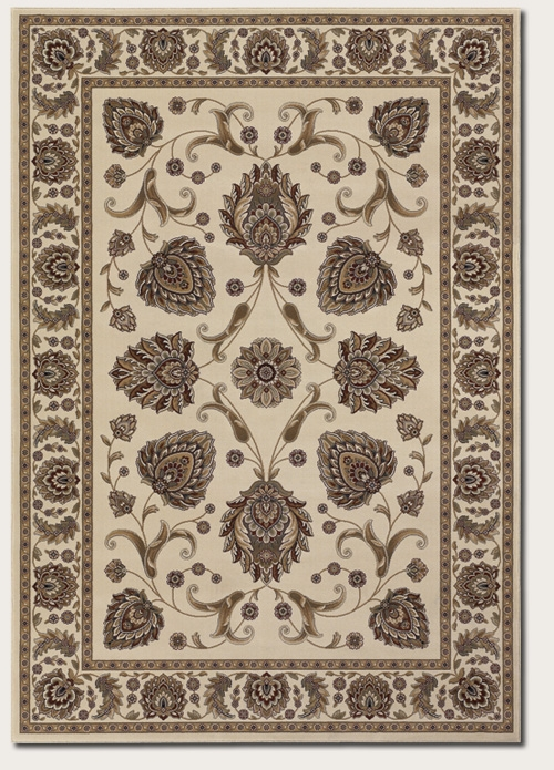 Leila Ivory 6382/5990 Everest Rug by Couristan