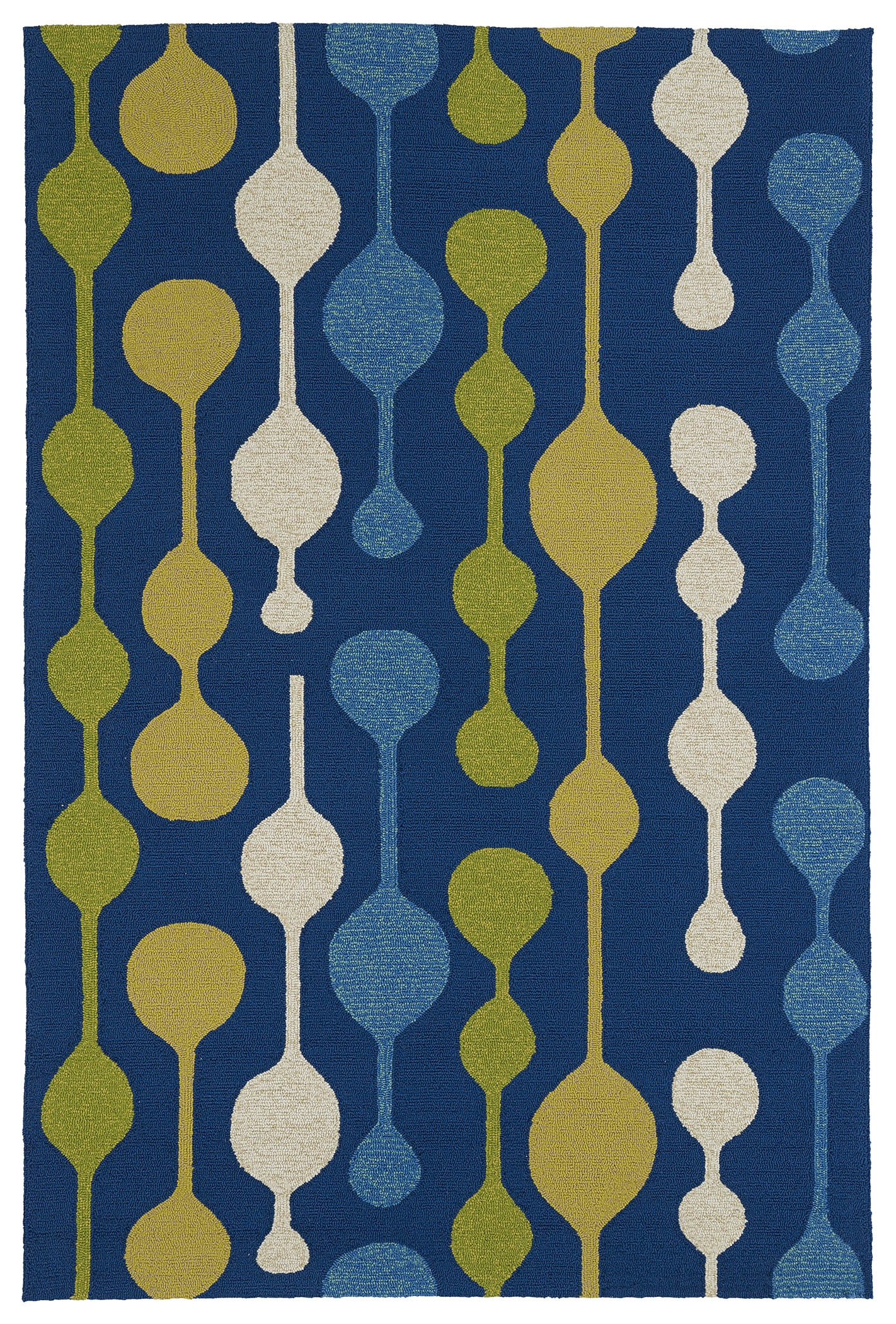 Kaleen Home And Porch 2035 17 Blue Rug