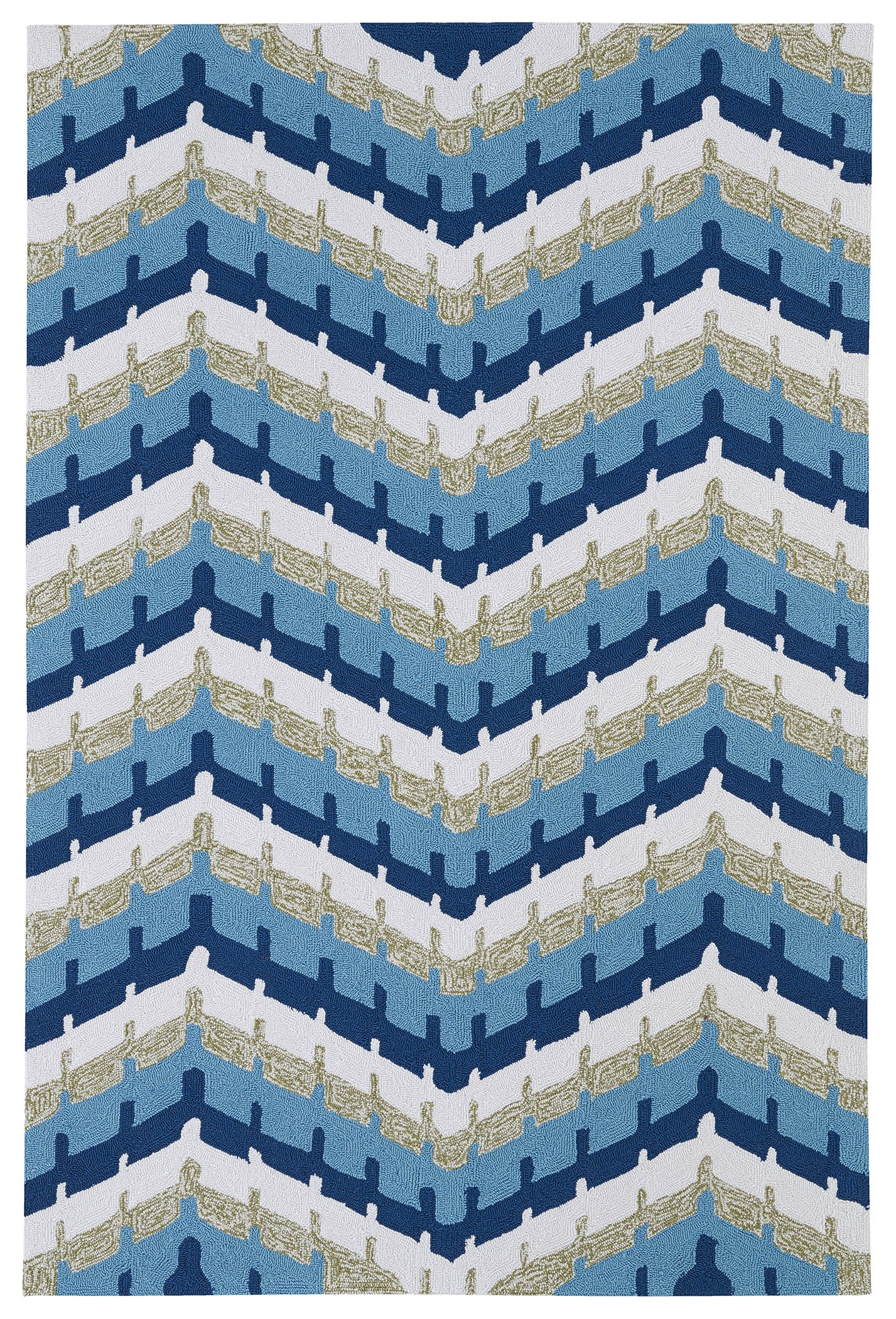 Kaleen Home And Porch 2039 17 Blue Rug