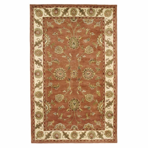 Rust Ivory 1405 200 Charisma Rug By Dynamic