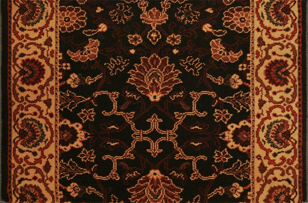 Everest Tabriz 3773/4876a Midnight Carpet Stair Runner