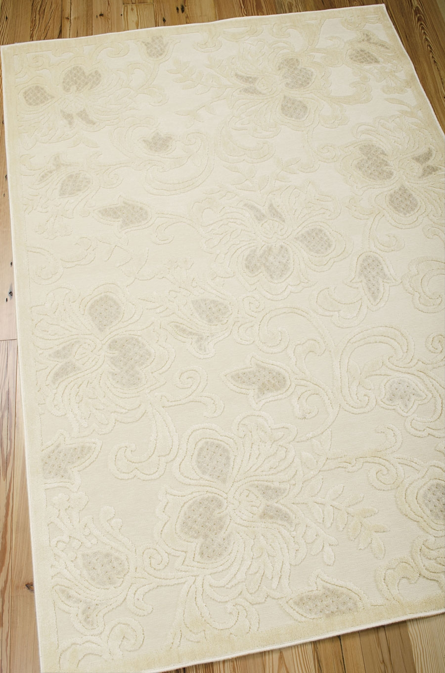 Graphic Illusions GIL02 Cream Rug by Nourison