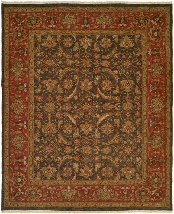 Hacienda HAC-40 Blue Rose Flat Weave Hand Knotted 100% Wool Rugs On Sale