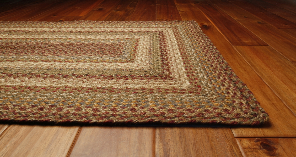 Primitive Area Rugs Harvest Braided Rug by Green World & Homespice