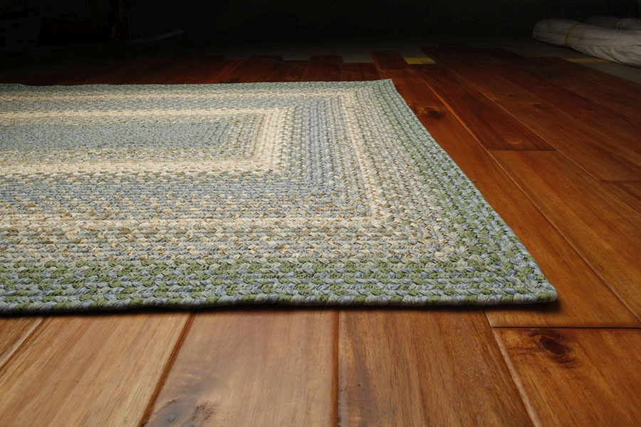 Baja Blue Cotton Rug by Homespice