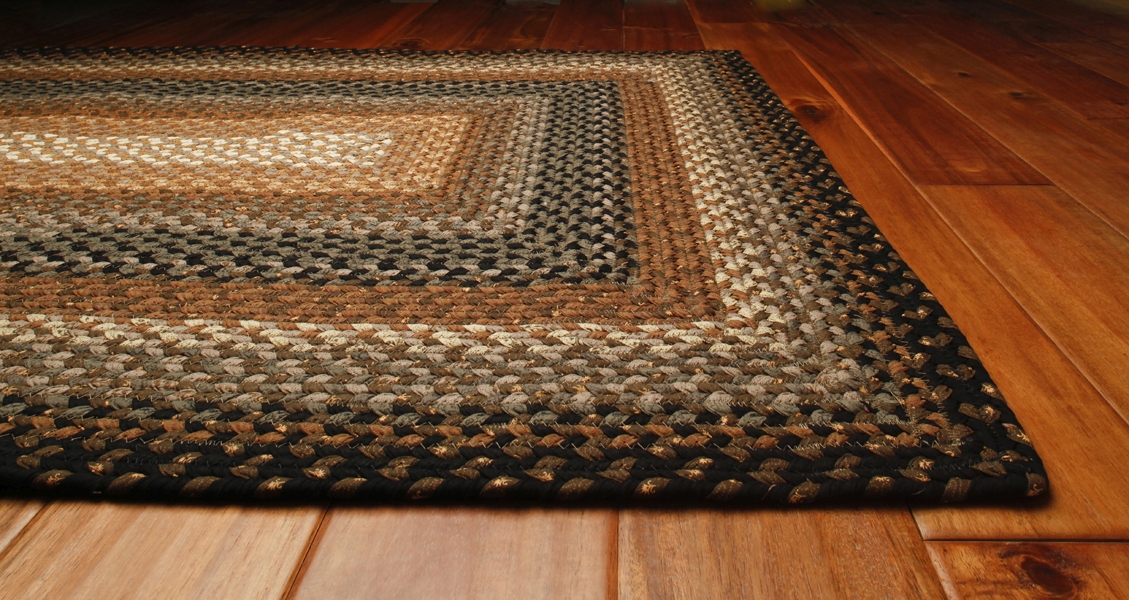 Cocoa Bean Cotton Rug by Homespice